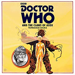 Doctor Who and the Claws of Axos cover art