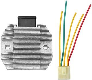 XCITING 250I 249CC 2006-2014 WildBee Starter Relay Solenoid Compatible with 35850-LBA2-E00 XCITING 500I 2006-2014 ATV MXU 450I 2012-2015 XCITING 300I 271CC 2008-2014