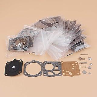 FEIFUSHIDIAN Reemplazo 20pcs / Lot Carburador de diafragma Kit de reparación for STIHL 031 AV 031AV JONSERED 625 630 670 Motosierra de Piezas de Repuesto Presión