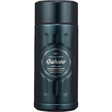 シービージャパン 水筒 ブルー 200ml 直飲み ステンレス ボトル 真空 断熱 カフア コーヒー ボトル QAHWA