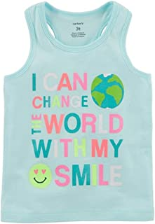 Carter's Baby Girl's I Can Change The World with My Smile Tank Top