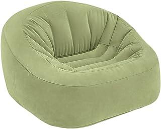 Intex Inflatable Chair Beanless Bag Club in Green, 124x 119x 76cm (68576)