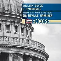 ウィリアム・ボイス:交響曲集