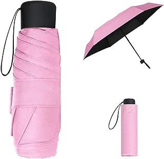 Vicloon Parapluie Pliant,Parapluie de Soleil,Mini Parapluie de Poche, Léger et Compact Résistant au Vent Parapluie,Idéal p...