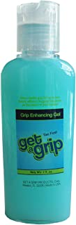 Get A Grip with Grip Fix Tennis Sweat Repellant Grip Enhancing Gel Lotion- Size 2 Onces Sticky Feel Also for Golfers or Any Sport requirering a Firm Strong Grip