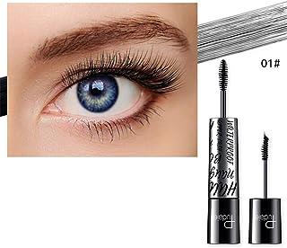 620de44bcde WENSY 4d double head color very fine mascara fiber slim mascara waterproof  double eyelash eyelash brush