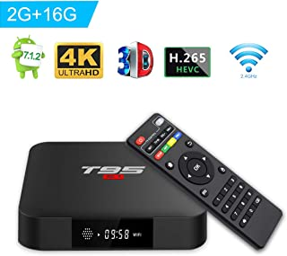 Turewell TV Box Android 7.1, Android Box Amlogic S905W Quad
