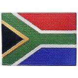 Südafrika Flagge Afrikanischer Staatsangehöriger Flicken Bestickter Aufnäher zum Aufbügeln/Annähen