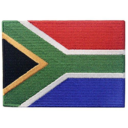 Bandera de Sudáfrica Emblema Nacional Parche Bordado de