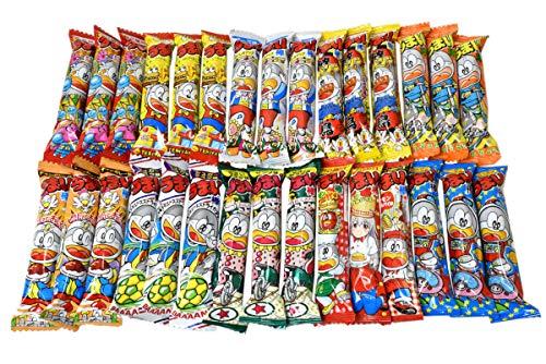 Umaibo, Japanese popular snack food, 30 packs(10 taste×3 packs) No.a132