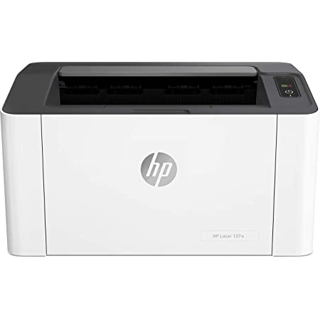 HP Laser 107a Stampante laser (stampante A4, USB), bianco
