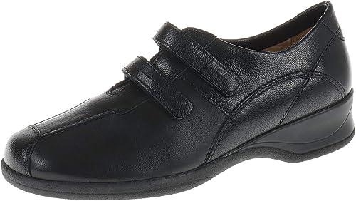 XSENSIBLE 100603002 100603002 100603002 Chaussures Basses pour Femme avec Fermeture Velcro Lucille Noir 5de