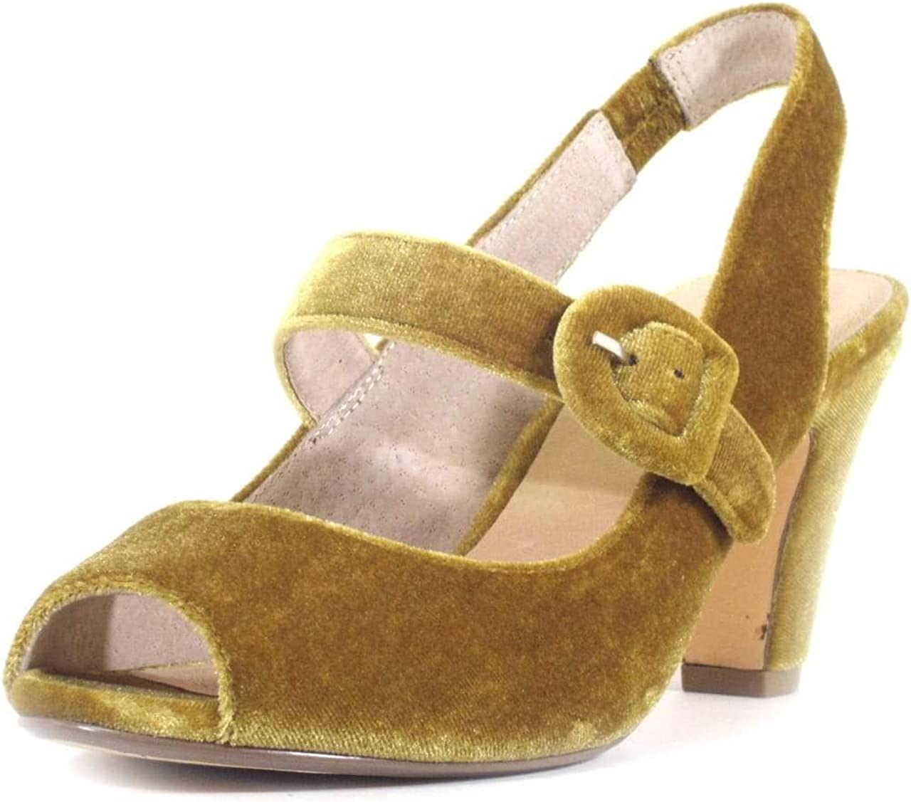 70s Shoes, Platforms, Boots, Heels | 1970s Shoes Chelsea Crew Liberty Womens Velvet Heels  AT vintagedancer.com