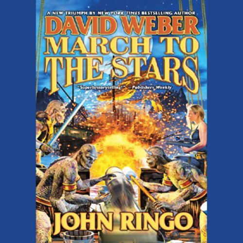 March to the Stars audiobook cover art