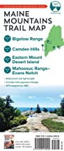 AMC Maine Mountains Trail Maps 3–6: Bigelow Range, Camden Hills, Eastern Mount Desert Island, Mahoosuc Range, and Evans Notch (Appalachian Mountain Club)