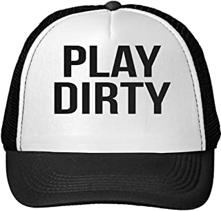 Unisex Play Dirty Cool Funny Swag Quote Text Adjustable Cap