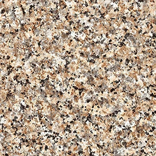 d-c-fix 346-0181-4PK Decorative Self-Adhesive Film, Brown Granite, 17