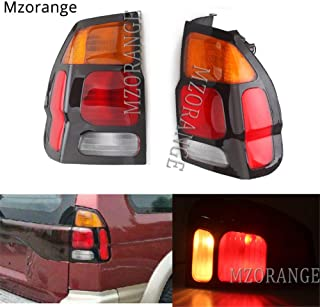 Clidr 1 Piece Tail Brake Lights For Mitsubishi Pajero MONTERO Sport 1999 2000 2001 2002 2003 2004 2005 2006 2007 2008 Rear Lamp Tail Light Assembly Car Styling (Right)