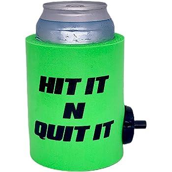 Hit It N Quit It Flowzer Shotgun Can Coolie Green