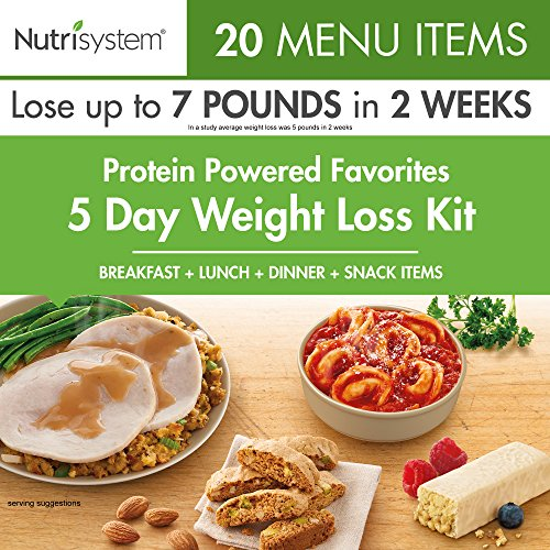 Nutrisystem Protein-Powered Favorites 5-Day Weight Loss kit