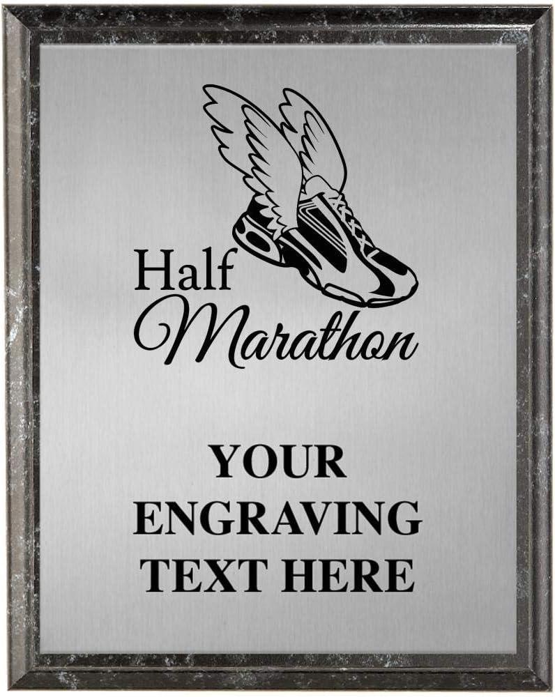 Crown Awards Chicago Mall Half Marathon unisex Personalized R Plaques