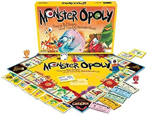 Monster-opoly by Late for the Sky