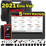 LAUNCH X431 V 2021 Upgrade Ver. Bi-Directional Scan Tool Full System Scanner,31+ Services,ECU Coding,Active Test,AutoAuth for FCA SGW,Guided Functions