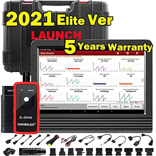 LAUNCH X431 V 2021 Upgrade Ver. Bi-Directional Scan Tool Full System Scanner,31+ Services,ECU...