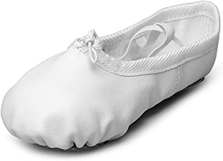 Leather Dance Shoes for Kids Girls Professional Ballet Gymnastic Flats