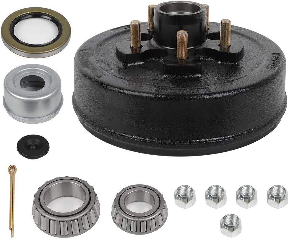 ECCPP Boat Trailer Brake Drum Beauty Popular shop is the lowest price challenge products Hub Kit 10 Bolt x 5 16 2 1 4