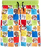 Nickelodeon Toddler Boys Paw Patrol Swim Trunk Board Shorts, Paw Multi Color Box, Size 4T