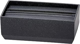 イデアコ ペーパータオルボックス トレル140 サンドブラック マット