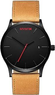 Men's Minimalist Vintage Watch with Analog Date