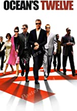 Posters USA Ocean's Twelve 12 Movie Poster GLOSSY FINISH - MOV318 (24