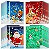 クリスマスラッピングバッグ 80枚 クリスマス プラスチック キャンディバッグ メリークリスマス サンタクロース エルク グッディバッグ クリスマス 雪だるま ホリデーおやつバッグ クリスマスパーティーの記念品に