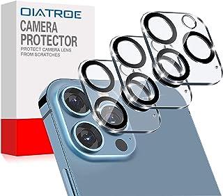 واقي شاشة لعدسات الكاميرا الخلفية من OIATROE لجهاز Apple iPhone 13 Pro Max، [3 عبوات] رقيقة للغاية 2.5D HD كاميرا طبقة واق...