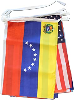 Flagline Spanish Speaking Countries - 30 ft String Banner