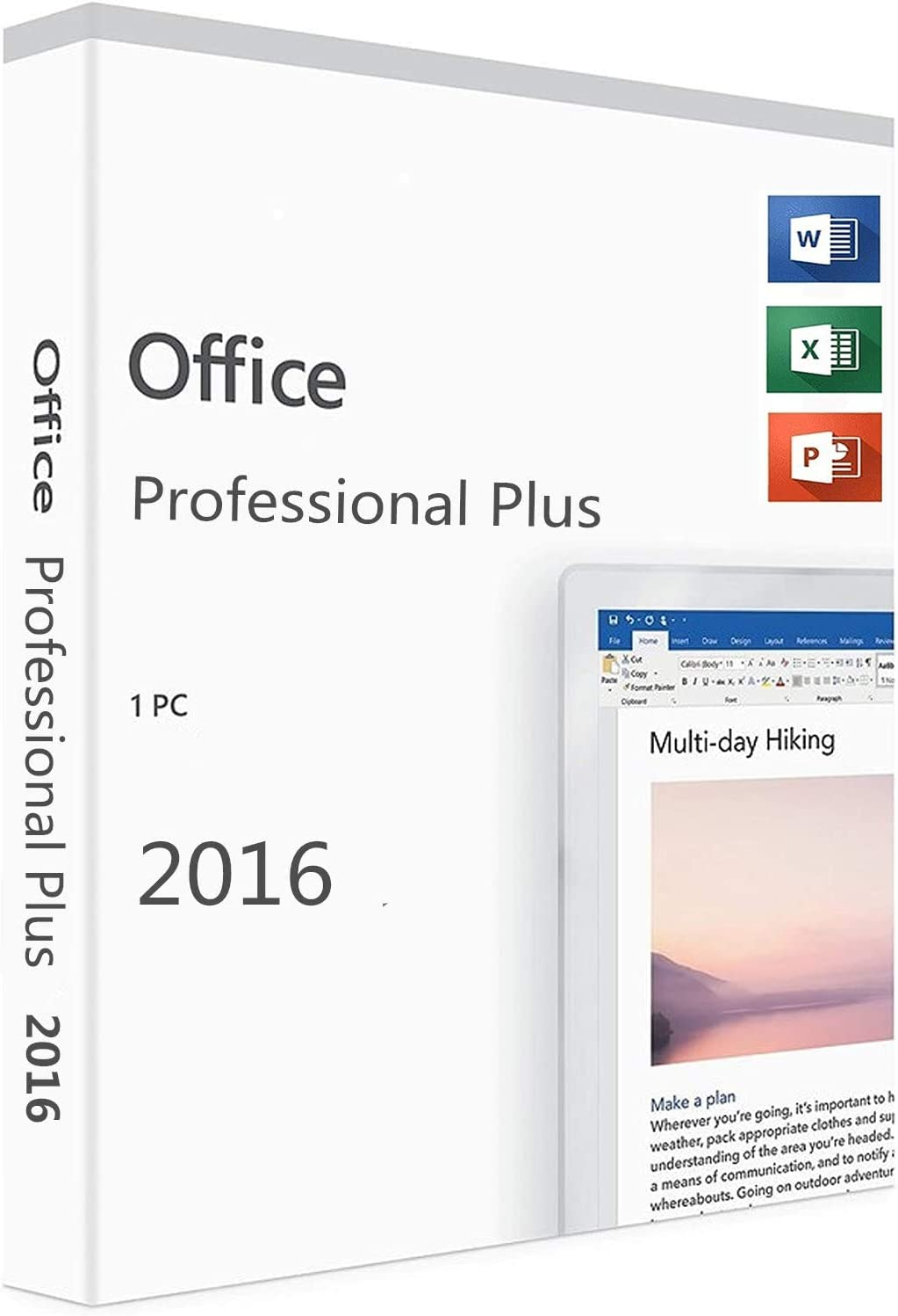 Office 2016 Professional Plus Lifetime License | 32/64-bit | PC