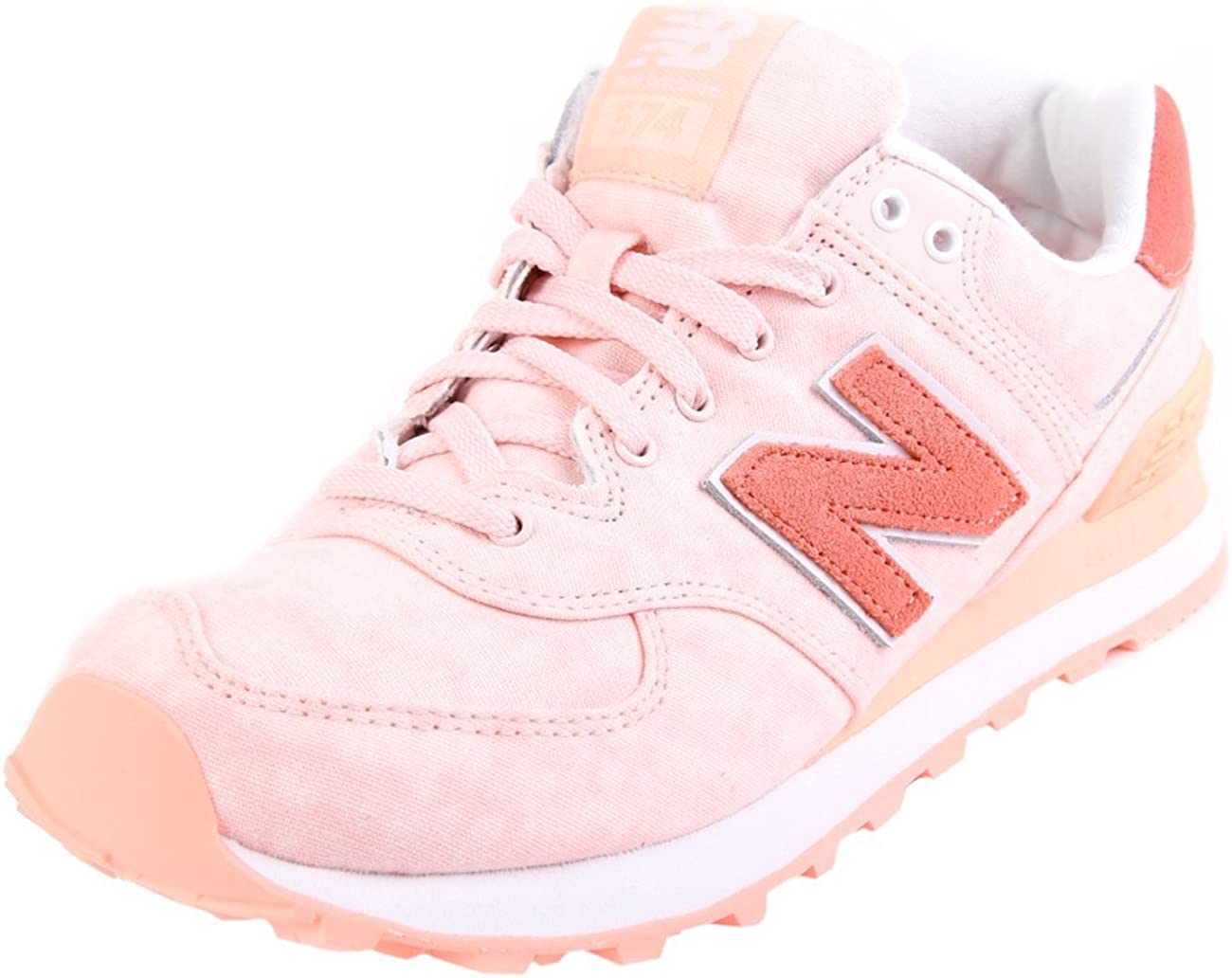 New Balance Sneakers Donna 574 Tessuto., rosa (Rosa), 42.5 ...