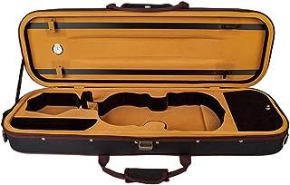 Irfora 4/4 Full Size Violin Case Storage Bag Box Oblong Shape with Hygrometer Adjustable Straps