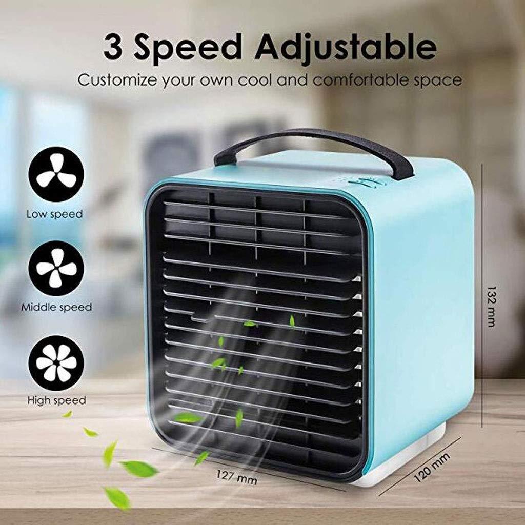 Huahau Refrigerador de Aire Mini Aire Acondicionado USB Ventilador ...