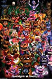 Trends International FNAF-Ultimate Group Wall Poster, 22.375' x 34', Multi