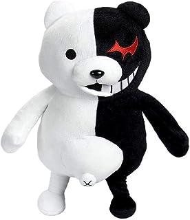 モノクマ ぬいぐるみ スーパーダンガンロンパ 2:さよなら绝望学园 希望ケ峰学園の学園長 モノクマ おもちゃ ふわふわ 柔らかい 癒し系 プレゼント かわいい お祝い ぬいぐるみ 人形 25cm 43cm