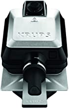 Krups FDD95D Wafelmachine Professional, Roestvrij Staal, 1200 W, Zwart