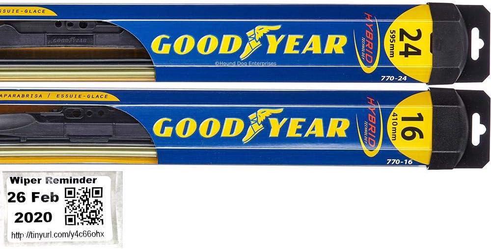 Windshield Wiper Blade Daily bargain sale Set Kit RAV4 Max 42% OFF for 2006-2012 Toyota Bundle