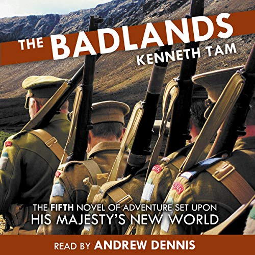 The Badlands audiobook cover art