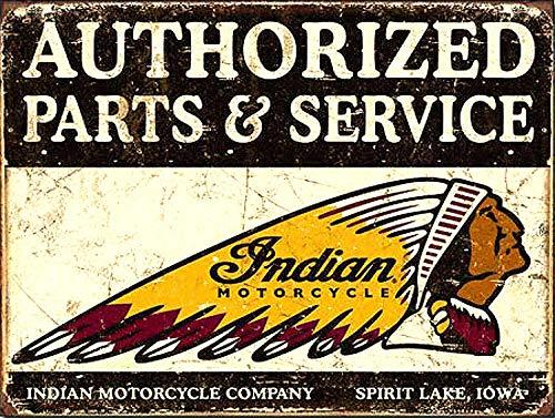 Sary buri Indiase Motorfiets En Service Metalen Tin Poster Voor Garage Club Bar Wall Art Cafe Shop Familie Pub Decoratie