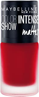 Maybelline New York Color Show Intense Nail Paint, Deep Coral, 6ml