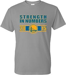 Golden State guerreros de la fuerza de los hombres en números T-Shirt, 2015NBA final