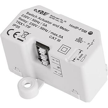 Homematic IP 142721A0 Schalt-Mess-Aktor-Unterputz